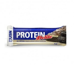 PROTEIN DELITE BAR COOKIES & CREAM 76g