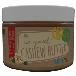 FITNESS AUTORITY CASHEW BUTTER SMOOTH 350G