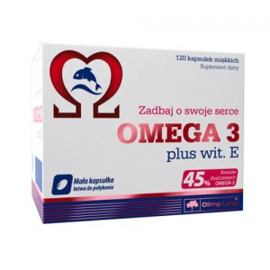 OLIMP OMEGA 3 PLUS WIT. E 120 kaps.