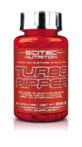 SCITEC NUTRITION TURBO RIPPER 100 kaps