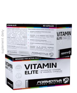 FORMOTIVA VITAMIN ELITE 60 CAPS