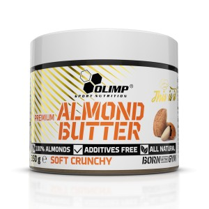 Olimp Premium Almond Butter 350g soft crunchy