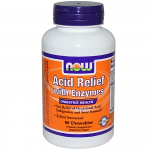 NOW FOODS ACID RELIEF 60 K