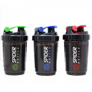 SHAKER Spider bottle 600ml